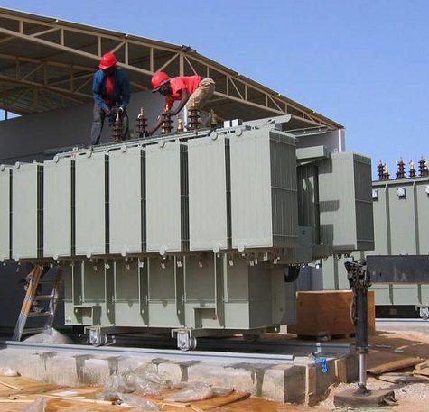Chiju-transformer-installation